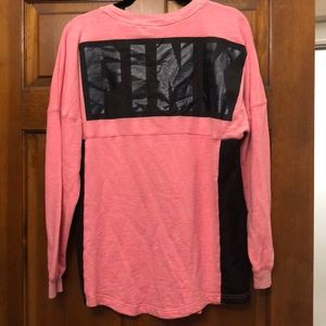 PINK Victoria's Secret Tops - VS PINK long sleeve shirt - size small